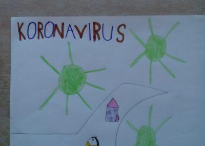 Nives Grčman 1.a - Korona virus