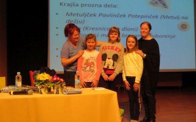 Obisk slovenske otroške in mladinske pesnice Barbare Gregorič Gorenc in ilustratorke Andreje Gregorič